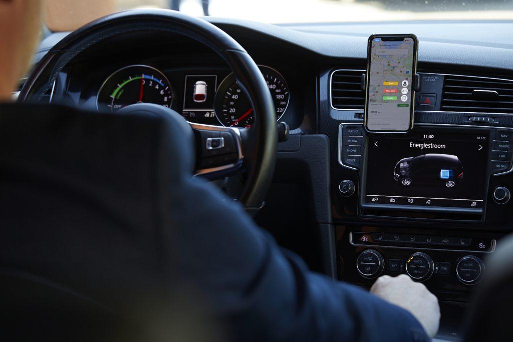 Ritregistratie in de auto